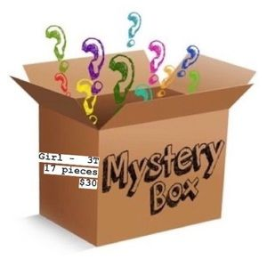 Other - GIRLS MYSTERY BOX- 3T, 17 pieces